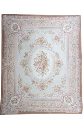 Renaissance Pile Aubusson. Ivory/Ivory