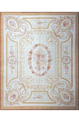 Renaissance Pile Aubusson.Ivory/Ivory