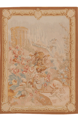 Recreation of an18th century design French Tapestry