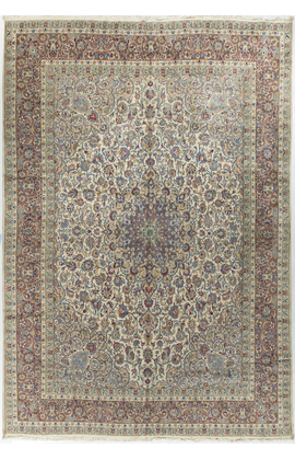 Vintage Persian Kirman Circa 1940
