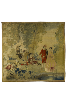 19th century French Tapestry.