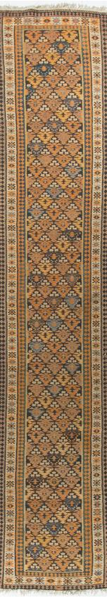 Antique Persian Veramin Kilim Circa 1900