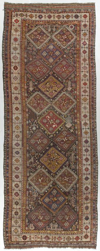 Vintage Persian Qashgai Rug Circa 1930