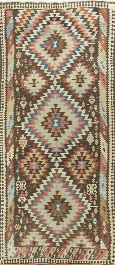 Vintage Persian Kilim Circa 1930