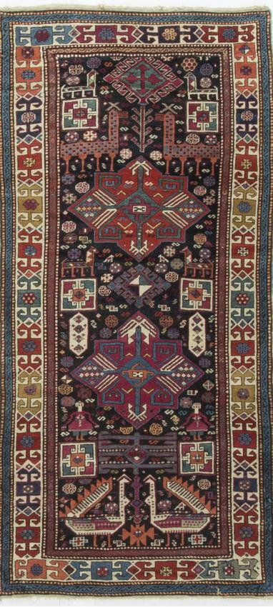 Antique Caucasian Akstafa Circa 1890