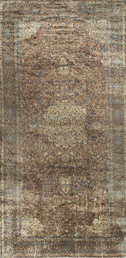 Antique Persian Tabriz Rug Circa 1890