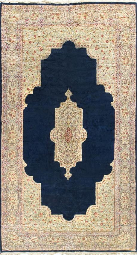 Vintage Persian Kirman.Circa 1940