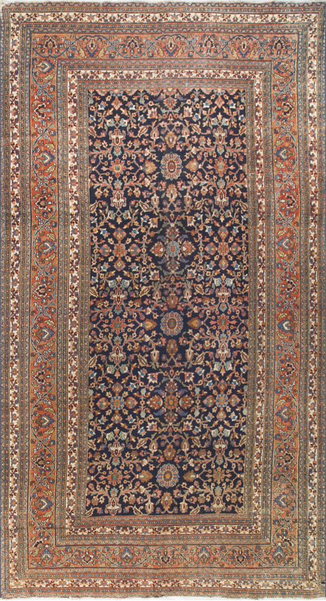 Fine Antique Persian Dorokhsh Rug Circa 1890