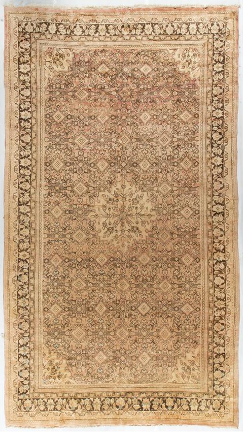 Vintage Persian Tabriz.Rug Circa 1940