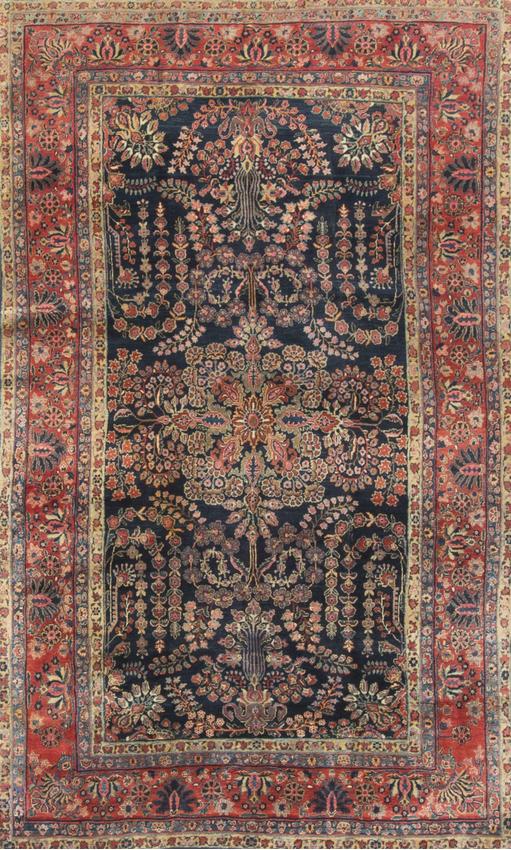Antique Persian Sarouk Circa 1900