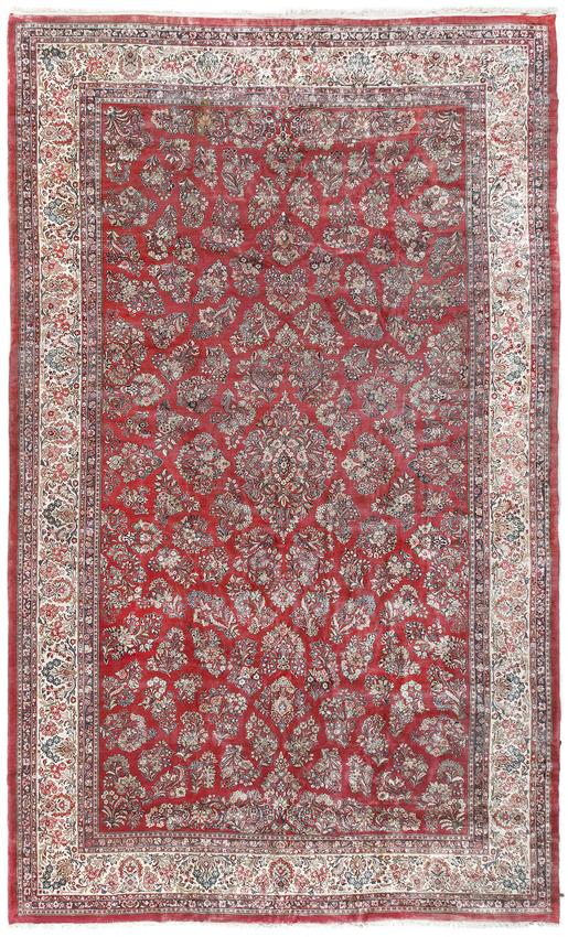 Vintage Persian Sarouk Rug.Circa 1920