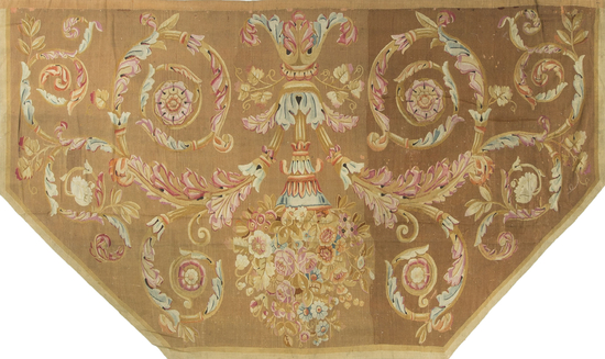 Antique French Charles  X Aubusson Circa 1830