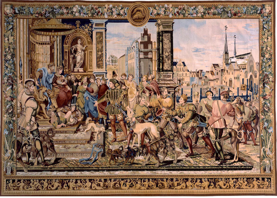 Recreation of a 16th century Van Orley Brussels Tapestry