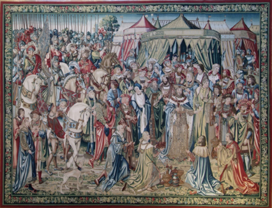 Recreation of a 16th century Brussels Tapestry