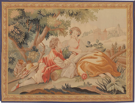 Recreation of a French 18th century Tapestry