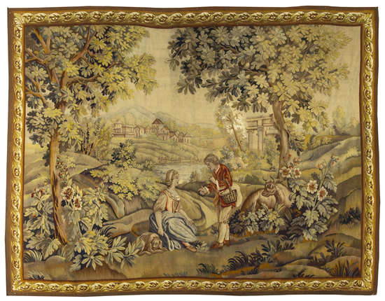 A French 19th Century Tapestry,