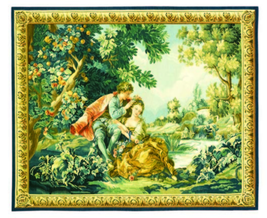Recreation of a Classic 18th Century French Tapestry