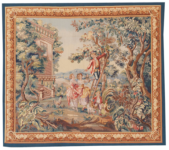 Recreation of an 18th Century Aubusson Style Tapestry