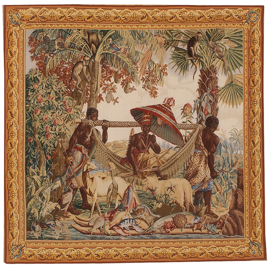 Recreation of an Exotic Tapestry