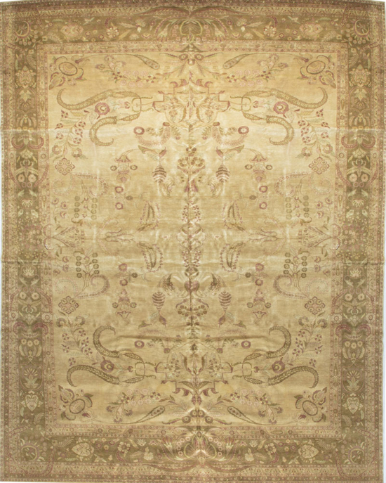 Marquis Collection.Beige/Brown