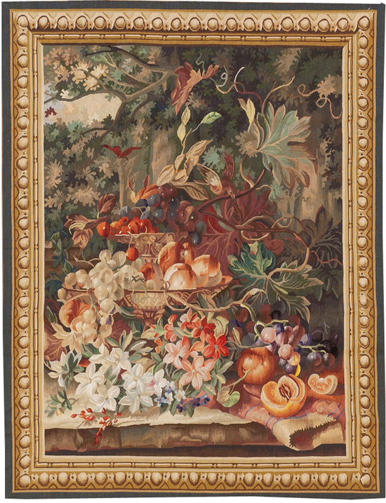 A Floral Tapestry Panel
