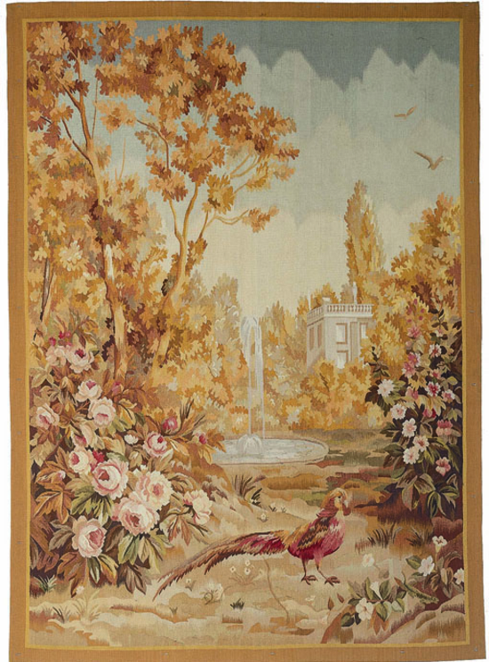 Recreation of an 18th century Verdure Landscape Tapestry