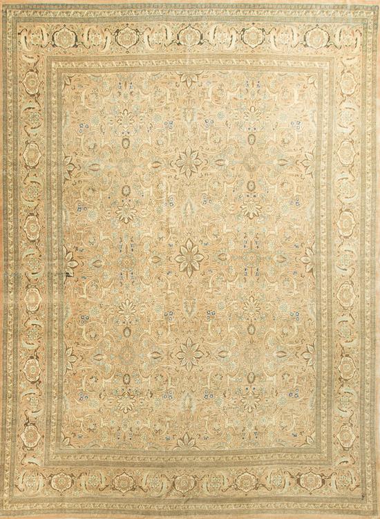 Antique Persian Tabriz Rug Circa 1900