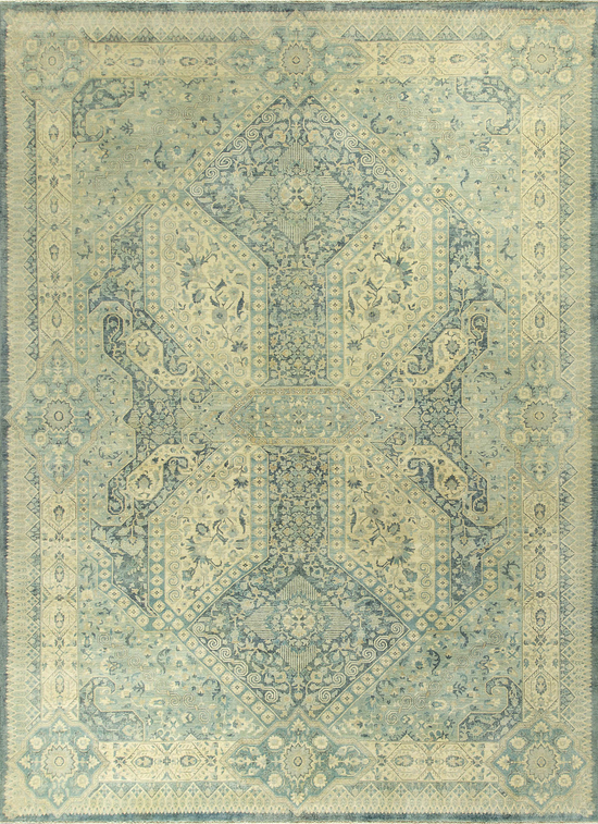 Signature Sultanabad Sultanabad con Light Blue Ivory
