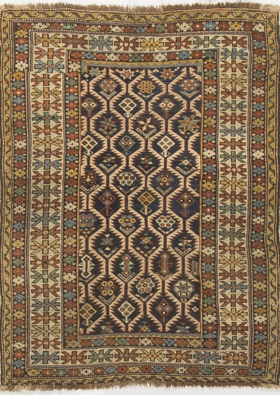 Antique Caucasian Shirvan Circa 1890