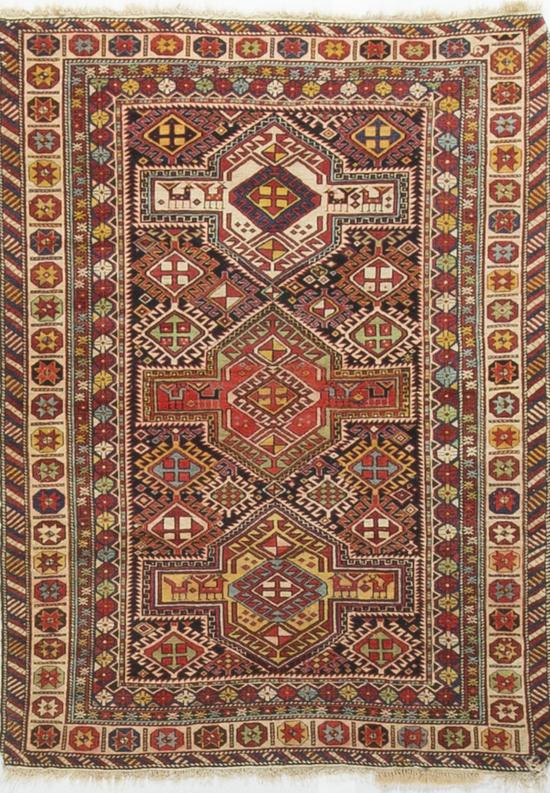 Antique Caucasian Shirvan Circa1880