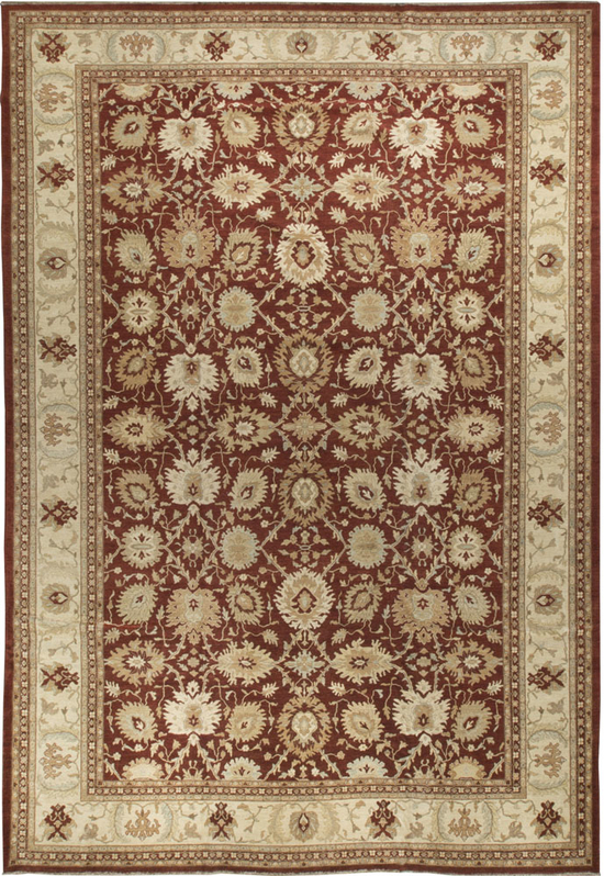 Sultanabad Rug.Red/Ivory
