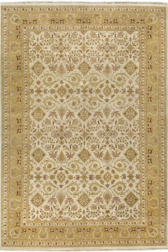 Antique Indian Agra Rug Circa 1900.