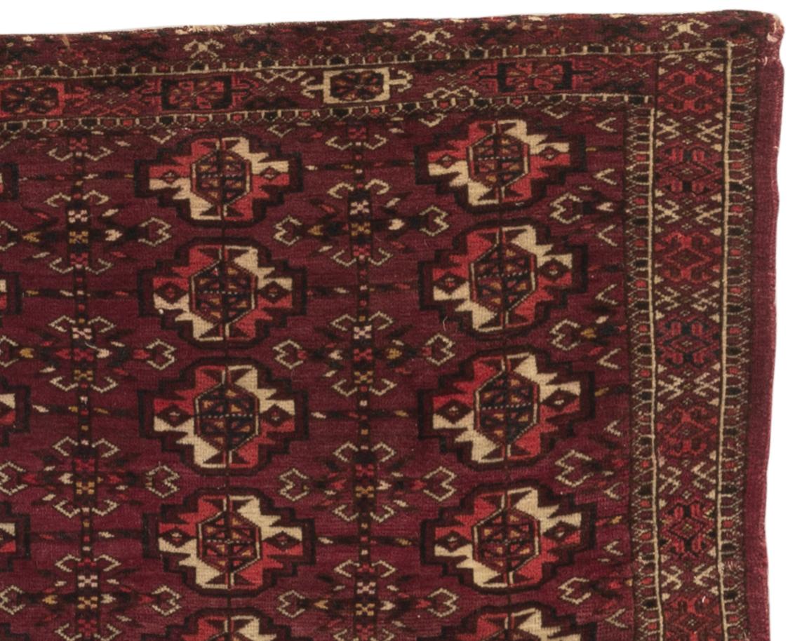 Antique Turkoman Rug Circa 1880 Antique Rugs