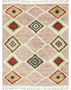 Moroccan Collection Taza 131 Pink Multi