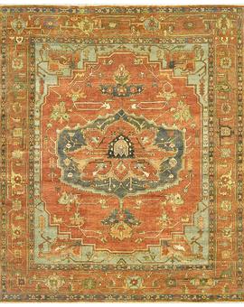 Antique Serapi Serapi 7-b prg Red