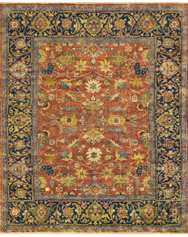 Antique Mahal Mahal-28 prg Red