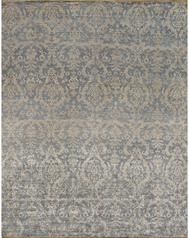 Neo Villa Collection Damask 6 Light Blue
