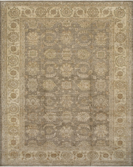 Sultanabad Collection N-135 con Light Green Ivory