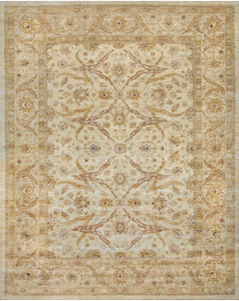 Sultanabad Collection N-26 con Ivory Light Green