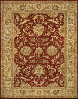 Sultanabad Collection N-4 con Red Ivory