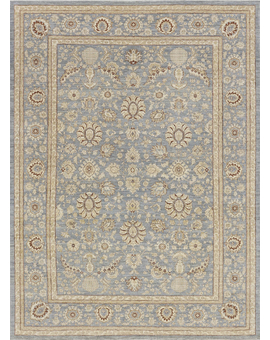 Sultanabad Collection N-54 con Light Blue Light Blue