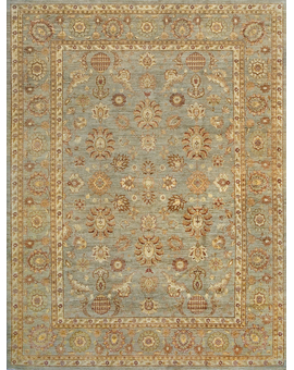 Sultanabad Collection N-54 con Light Green Light Green