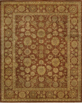 Sultanabad Collection N-54 con Rust Rust