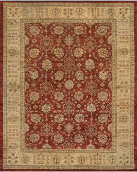 Sultanabad Collection N-58 con Red Ivory