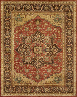 Sultanabad Collection N-64 con Red Brown