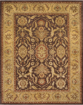 Sultanabad Collection N-88 Brown Gold
