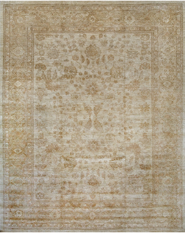 Sultanabad Collection S-10 Ivory Ivory