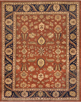Sultanabad Collection S-19 con Red Blue