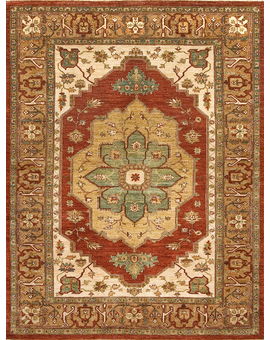 Sultanabad Collection S-16 con Red Brown