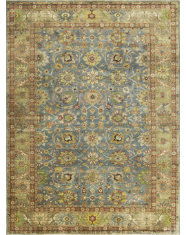 ANTIQUE SULTANABAD MAH20 Blue / Brown